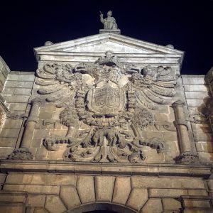 Detalle Puerta de Bisagra.